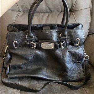 Michael Kors leather handbag black